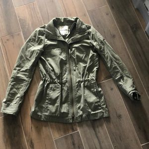 Olive green made well jacket